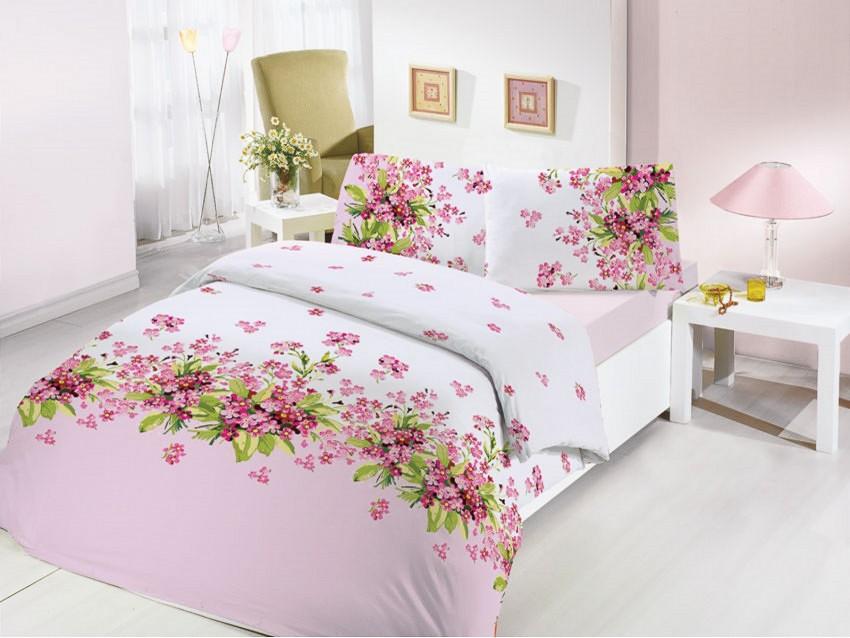 где купить  Постельное белье Altinbasak Постельное белье Sumbul Цвет: Розовый (2 сп. евро)  по лучшей цене