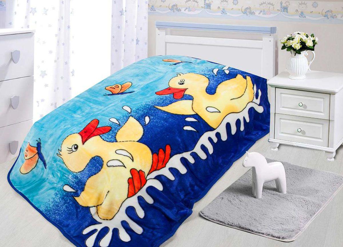 где купить  Детские покрывала, подушки, одеяла Tamerlan Детский плед Утята (110х140 см)  по лучшей цене