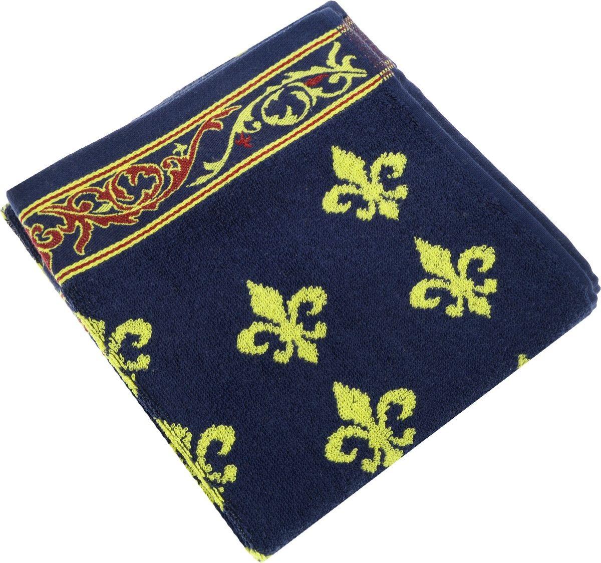 Полотенца Soavita Полотенце Lakeshia Цвет: Синий (65х130 см)