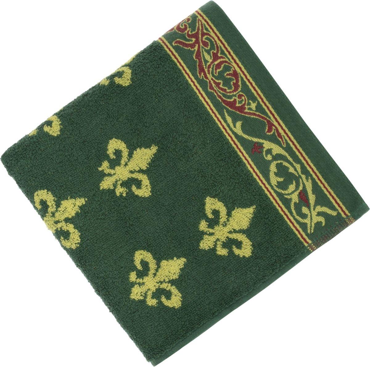 Полотенца Soavita Полотенце Lakeshia Цвет: Зеленый (65х130 см) полотенце кухонное soavita цвет коралловый диаметр 65 см 48800