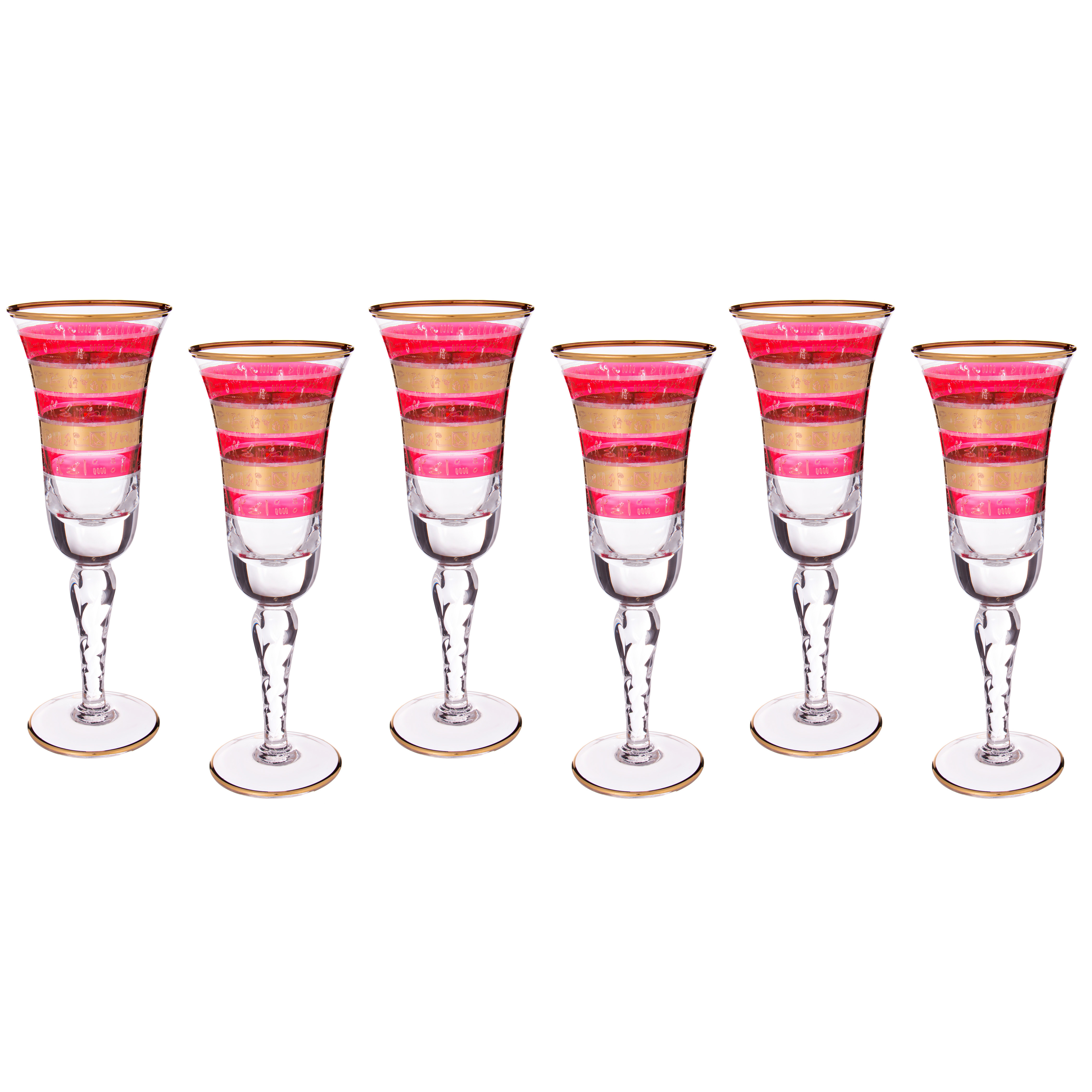 {} Same Набор бокалов для шампанского Vonnie (250 мл - 6 шт)