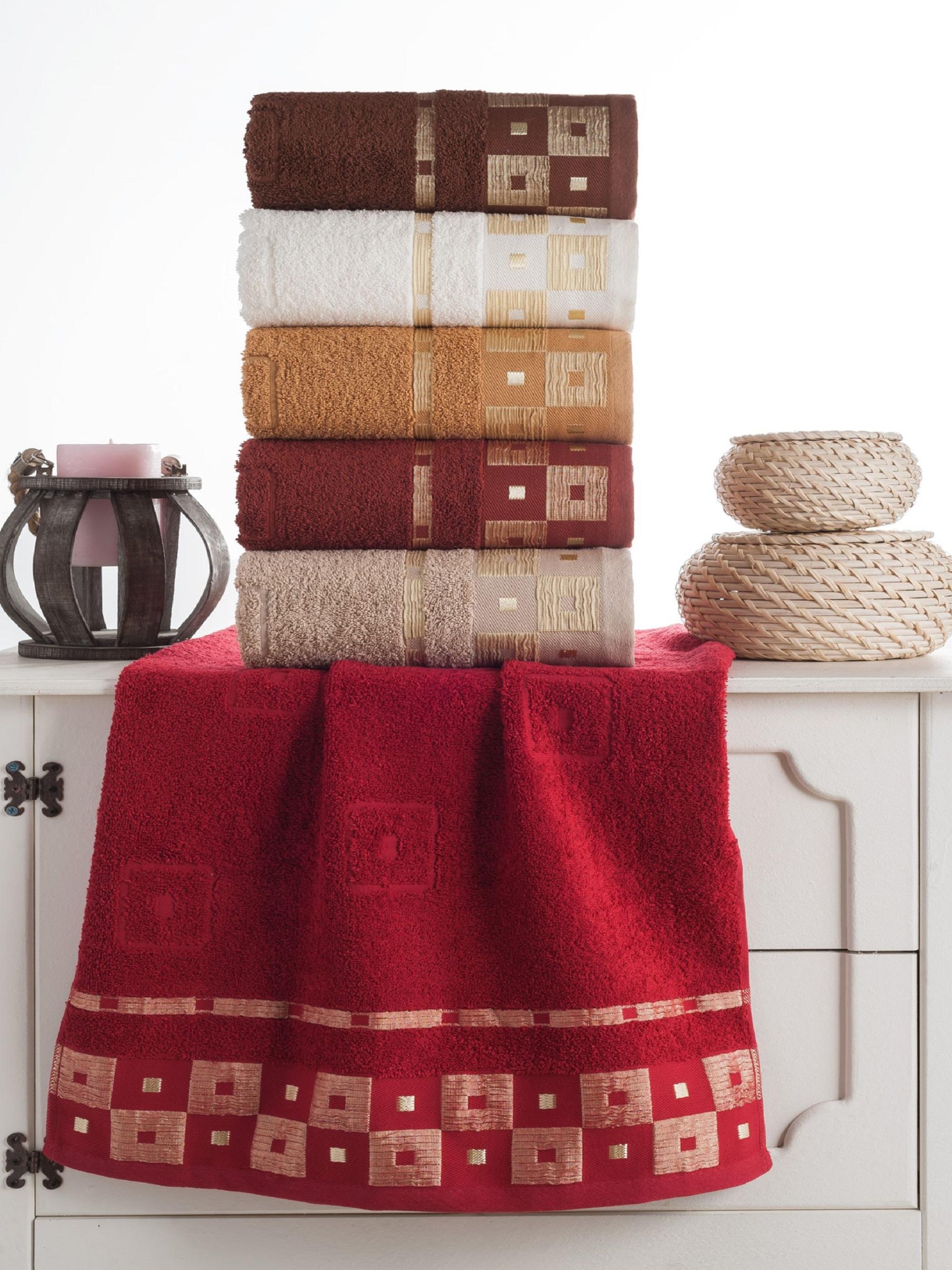 где купить  Полотенца Beautiful Rose Полотенце Кринкил (50х90 см - 6 шт)  по лучшей цене