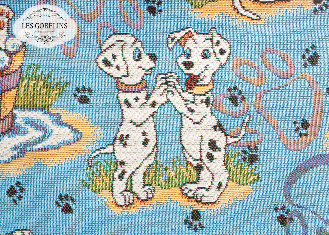 Детские покрывала, подушки, одеяла Les Gobelins Детская Накидка на диван Dalmatiens (130х230 см)