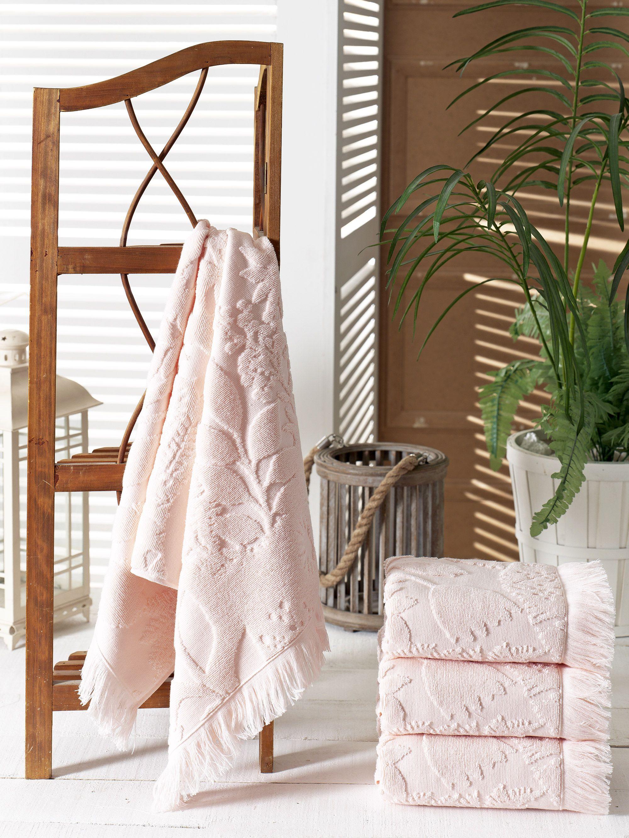 Полотенца Pupilla Полотенце Amazon Цвет: Розовый (70х140 см - 4 шт)