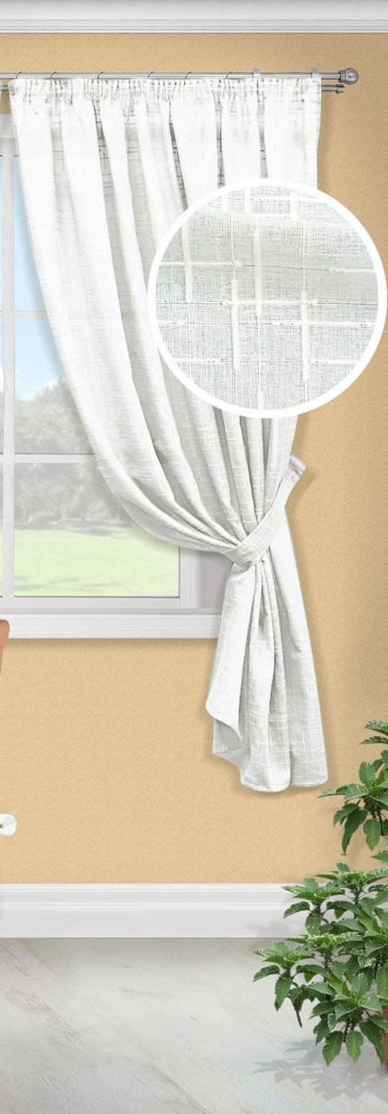 Шторы Kauffort Классические шторы Arena-K Цвет: Белый шторы kauffort классические шторы barolo k