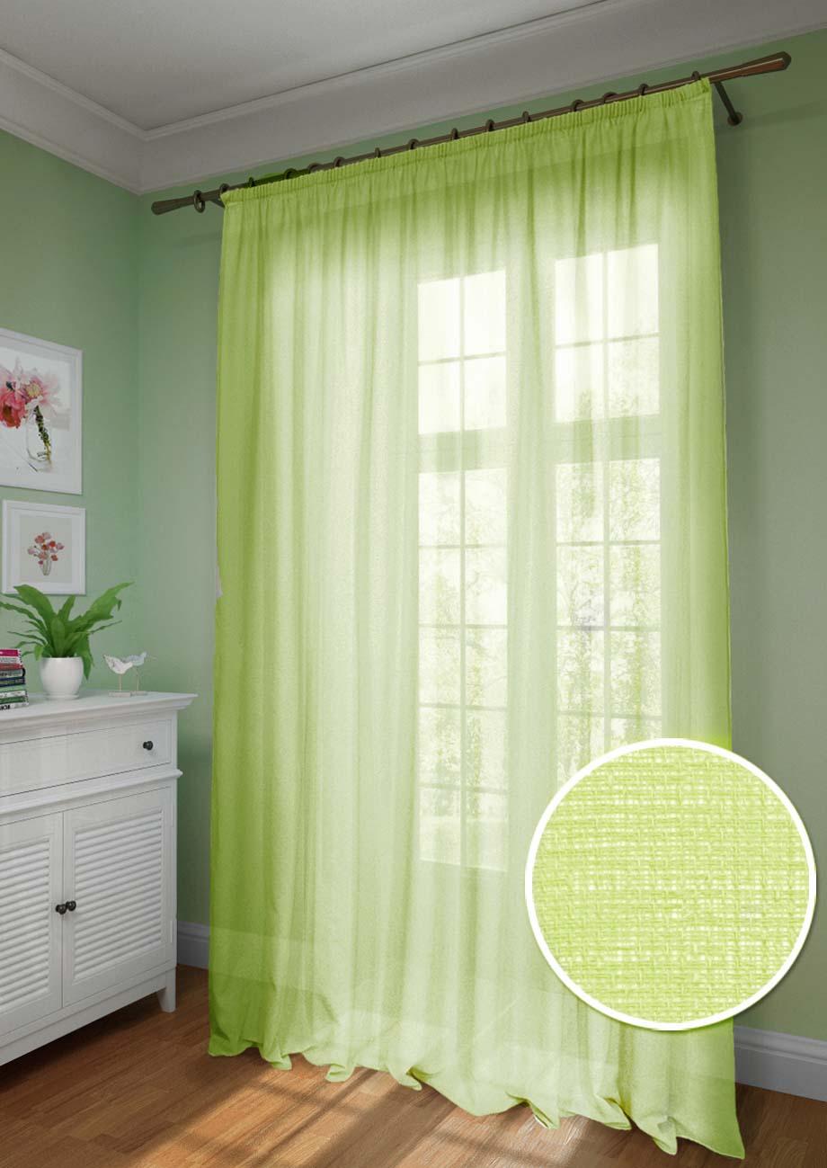 Шторы Kauffort Классические шторы Basicos-XL Цвет: Зеленый шторы kauffort классические шторы barolo xl