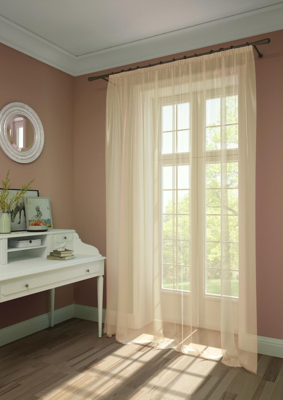 Шторы Kauffort Классические шторы Oriana-XL Цвет: Нежно-Персиковый шторы kauffort классические шторы barolo xl