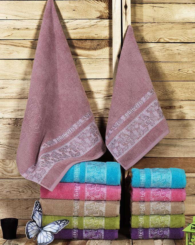 где купить  Полотенца Beautiful Rose Полотенце Butterfly (50х90 см - 6 шт)  по лучшей цене