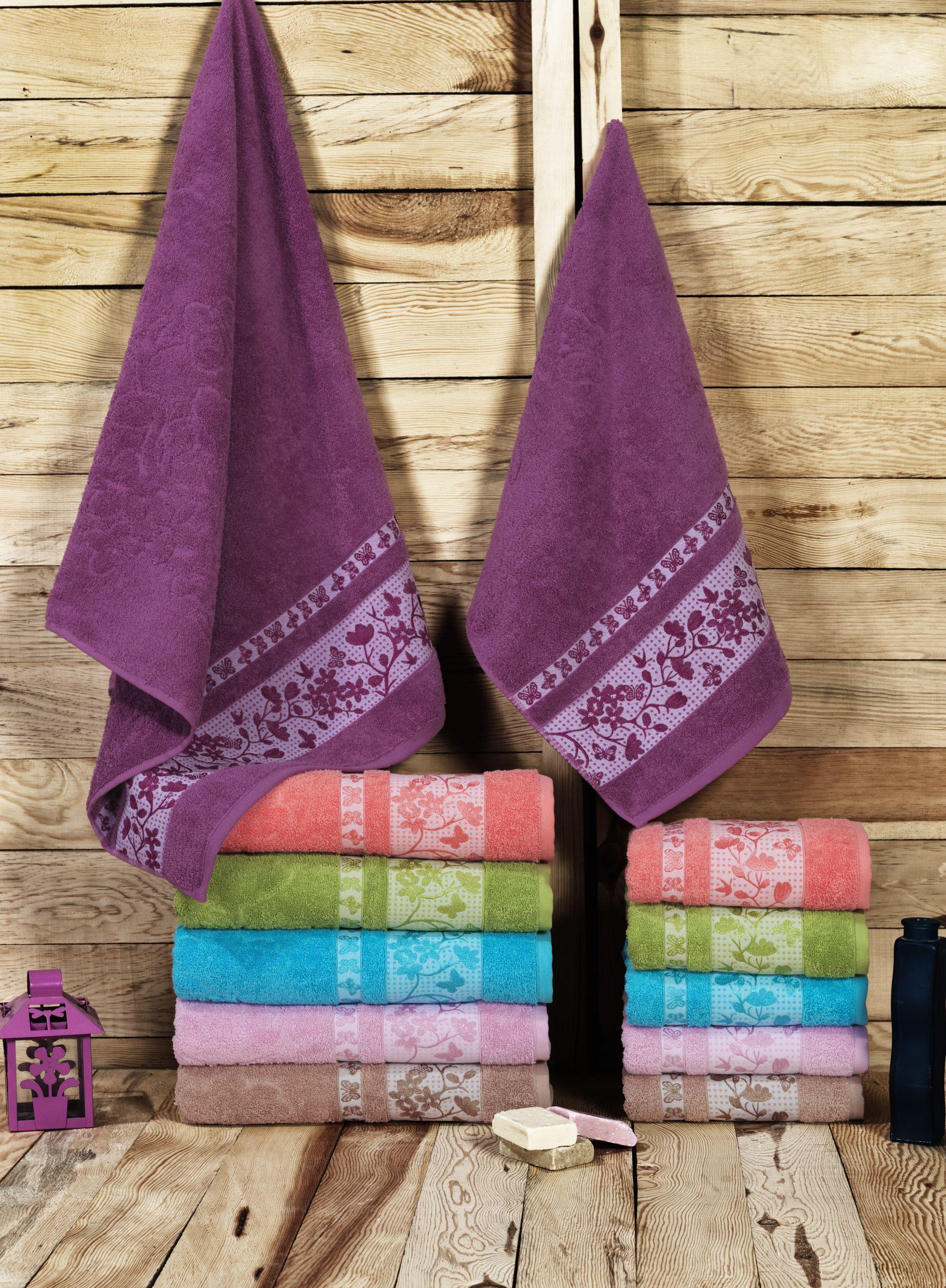 где купить  Полотенца Beautiful Rose Полотенце Sakura (50х90 см - 6 шт)  по лучшей цене