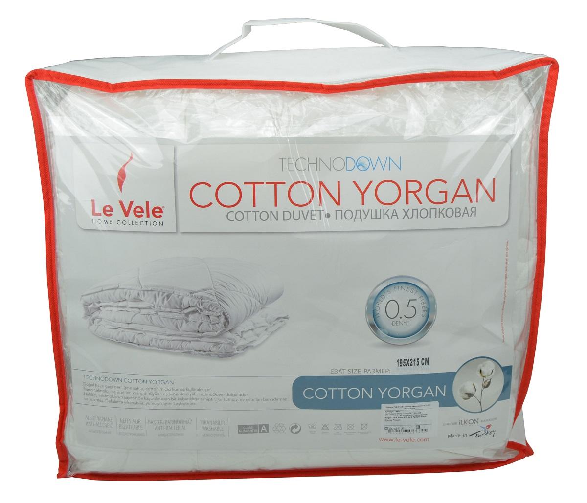 Одеяла Le Vele Одеяло Cotton Elite Всесезонное (155х215 см) одеяла othello одеяло pearl micro kapitone 155х215 см