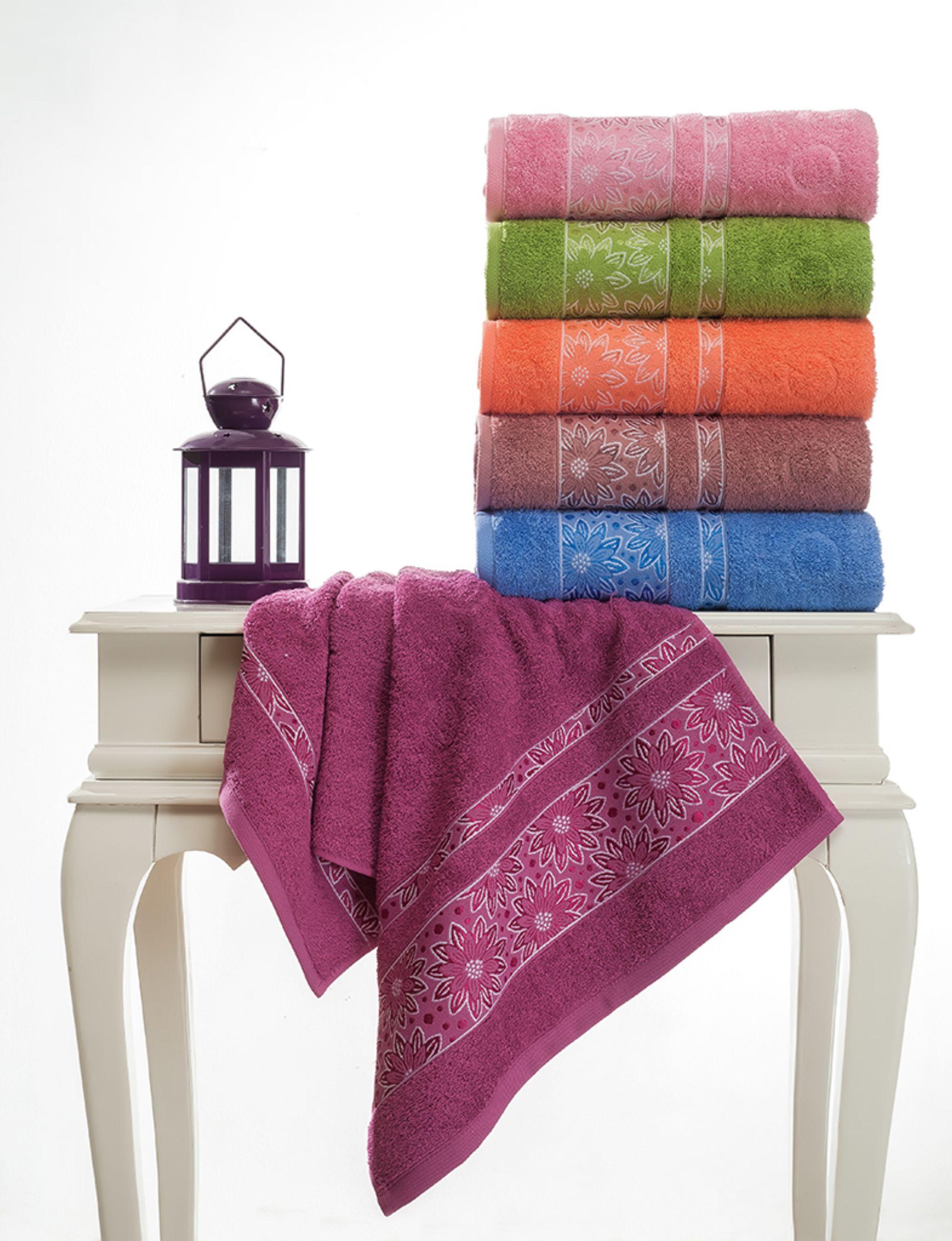 где купить  Полотенца Beautiful Rose Полотенце Emma (50х90 см - 6 шт)  по лучшей цене