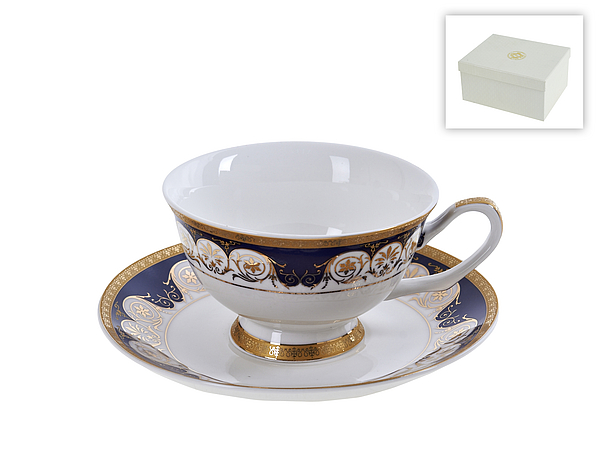 {} Best Home Porcelain Набор кружек Indigo (200 мл)