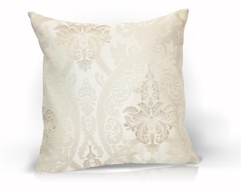 Декоративные подушки Kauffort Декоративная подушка Bergamo Цвет: Светло-Бежевый (40х40)