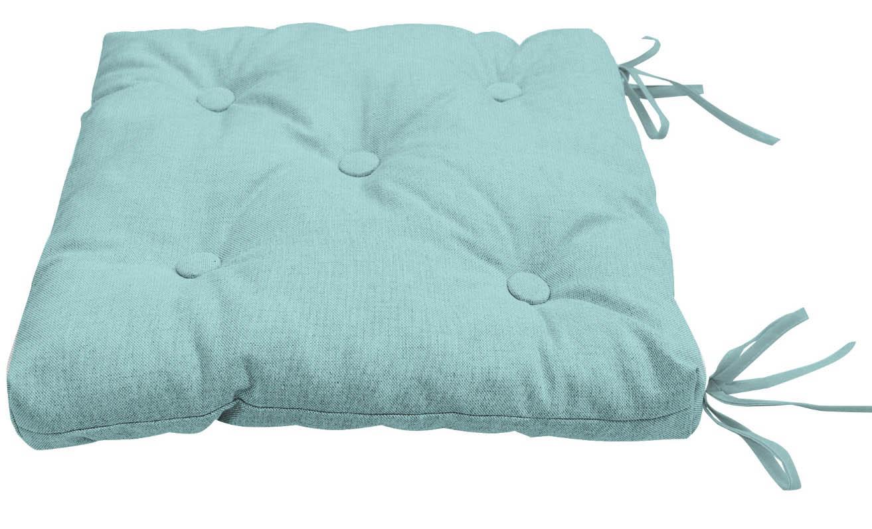 Подушки на стул Kauffort Подушка на стул Нosta Цвет: Голубой (40х40) подушка на стул адмирал цвет голубой синий 40 х 40 см