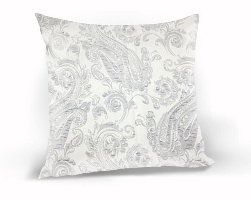 Декоративные подушки Kauffort Декоративная подушка Paisley Цвет: Светло-Серый (40х40)