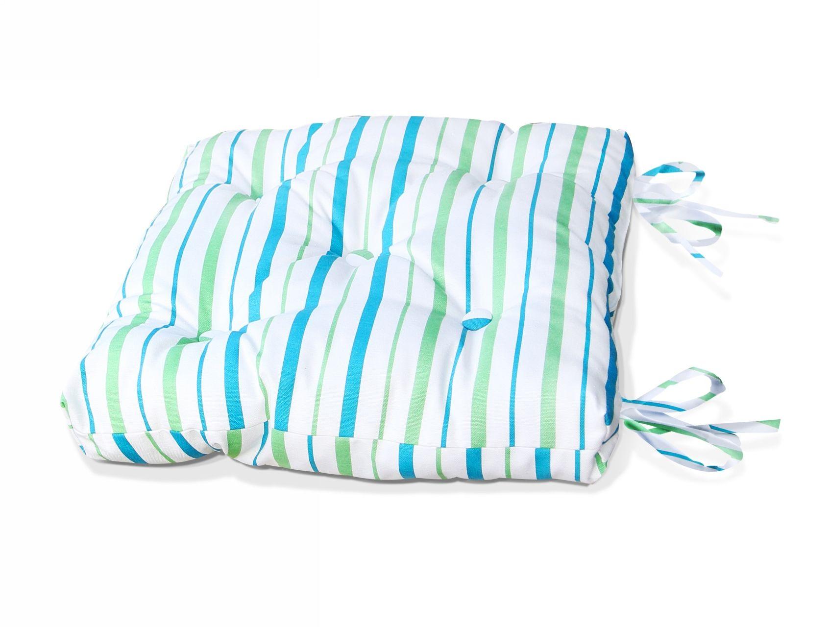Подушки на стул Kauffort Подушка на стул Rain Цвет: Небесно-Голубой (40х40) подушка на стул адмирал цвет голубой синий 40 х 40 см