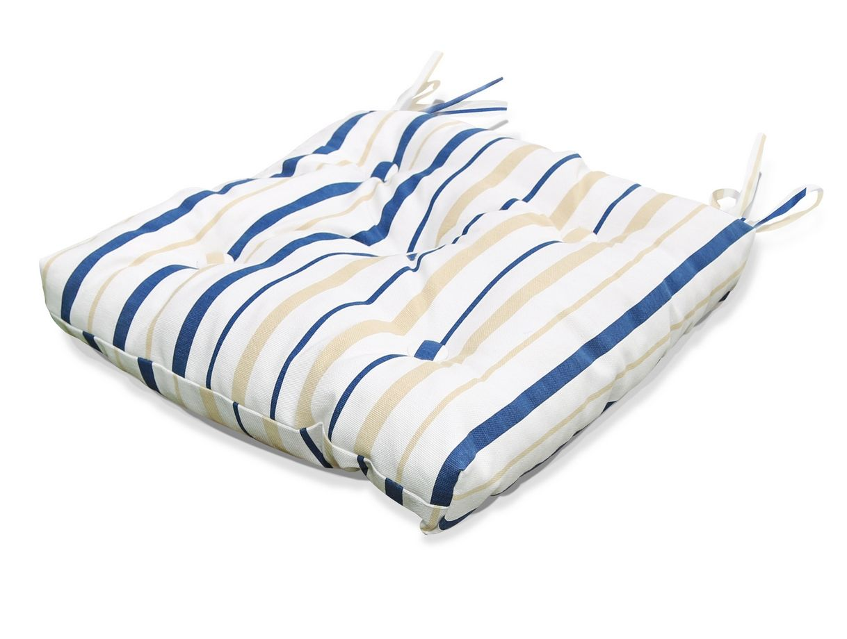 Подушки на стул Kauffort Подушка на стул Rain Цвет: Синий (40х40)