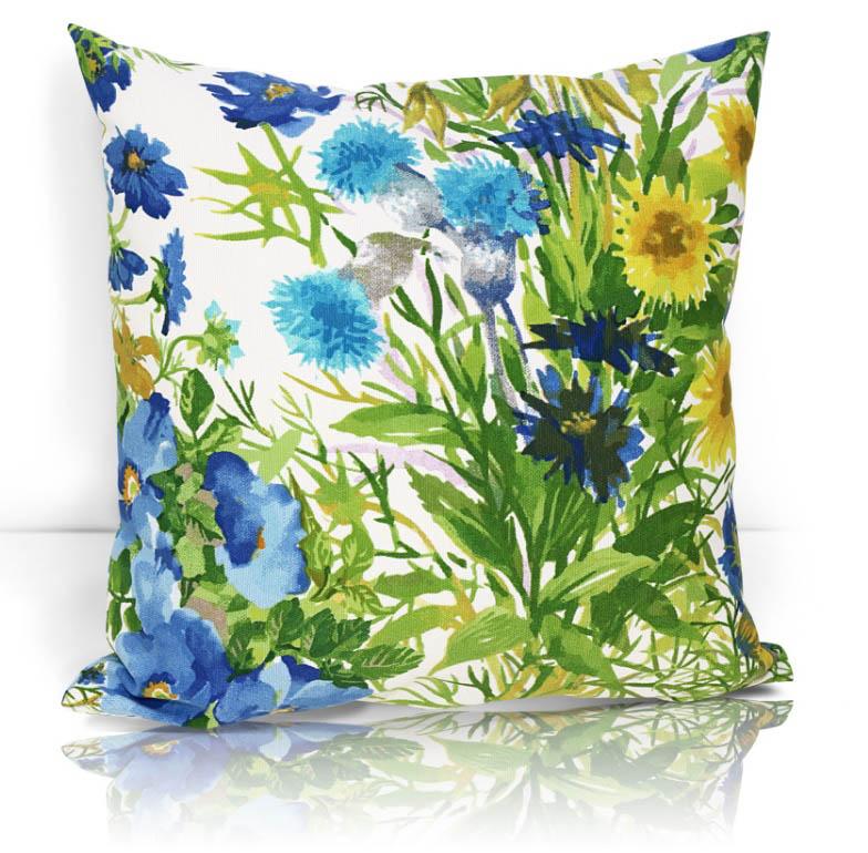 Декоративные подушки Kauffort Декоративная подушка Primavera Цвет: Голубой (40х40)