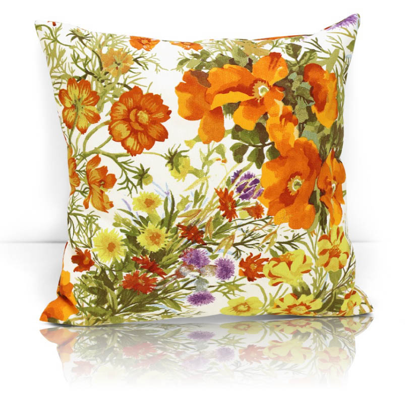 Декоративные подушки Kauffort Декоративная подушка Primavera Цвет: Оранжевый (40х40)