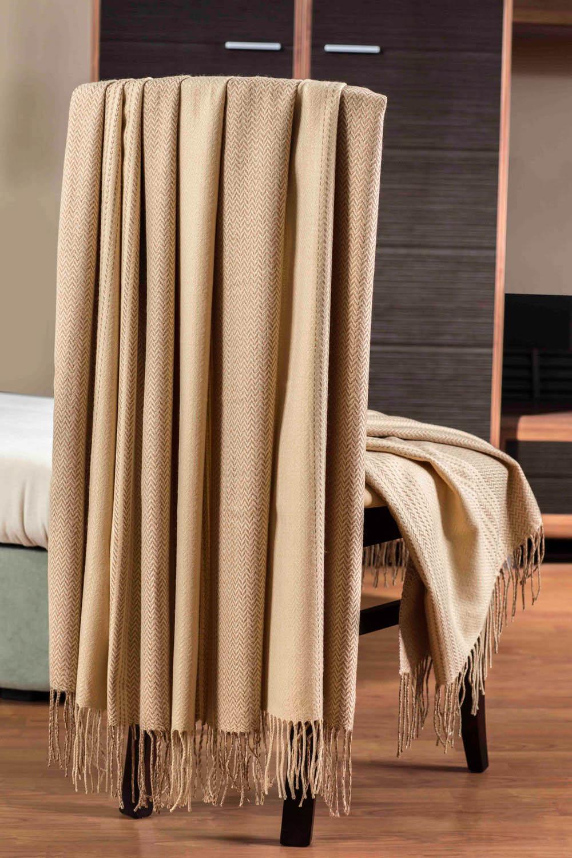 Плед Primavelle Плед Bamboo Цвет: Бежевый (140x180 см) primavelle bamboo