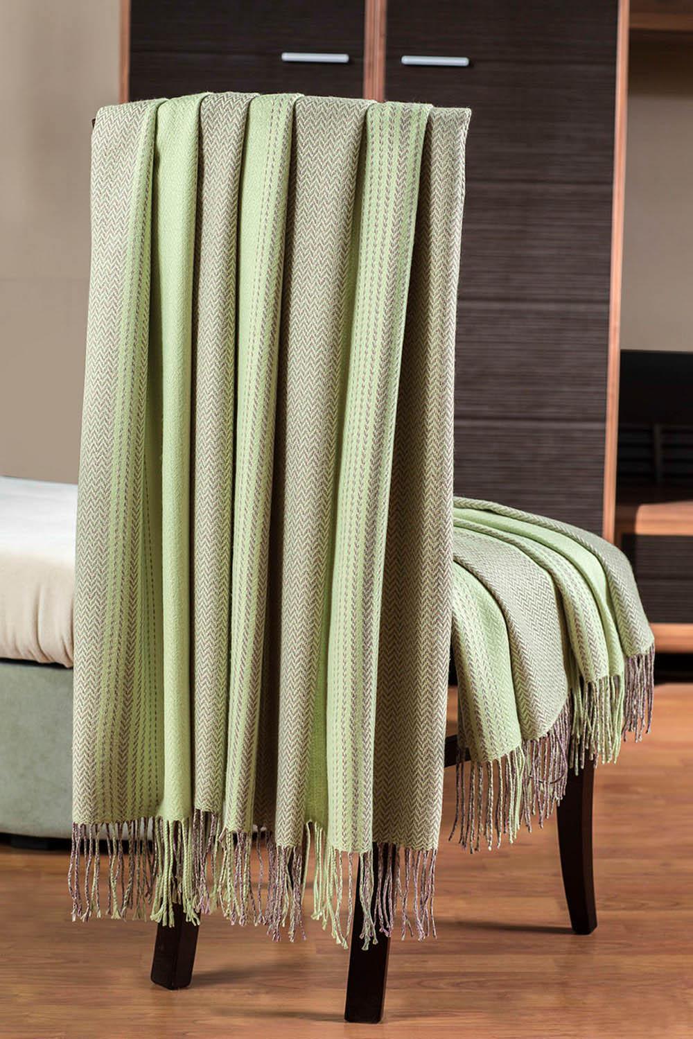 Плед Primavelle Плед Bamboo Цвет: Светло-Зеленый (140x180 см) primavelle bamboo