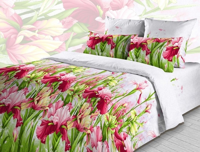 Постельное белье ТК Хлопковый Рай Постельное белье Ирсен (King size (Евро макси)) постельное белье сирень постельное белье евро кпб рай