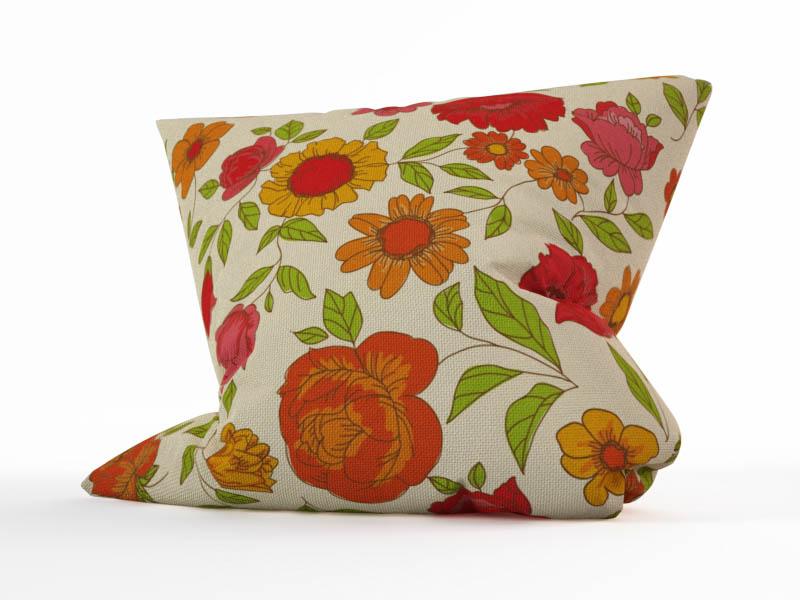 где купить  Декоративные подушки StickButik Декоративная подушка Винтажные Цветы (45х45)  по лучшей цене