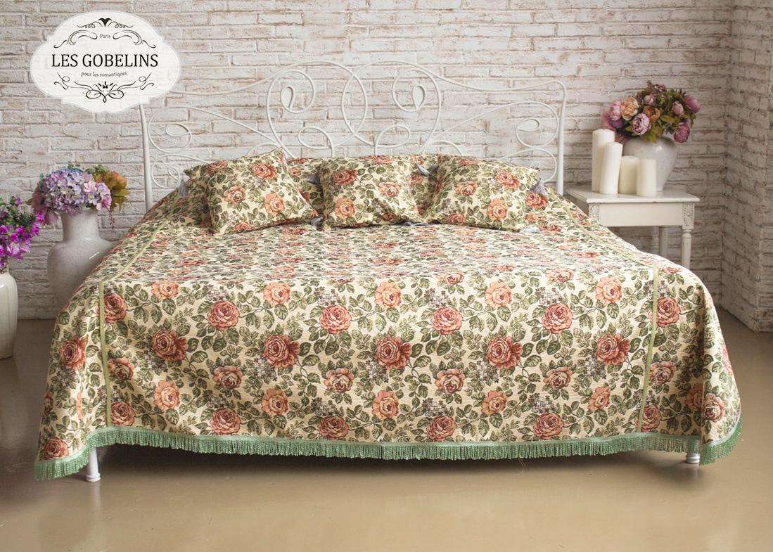 где купить Покрывало Les Gobelins Покрывало на кровать Art Floral (180х230 см) по лучшей цене