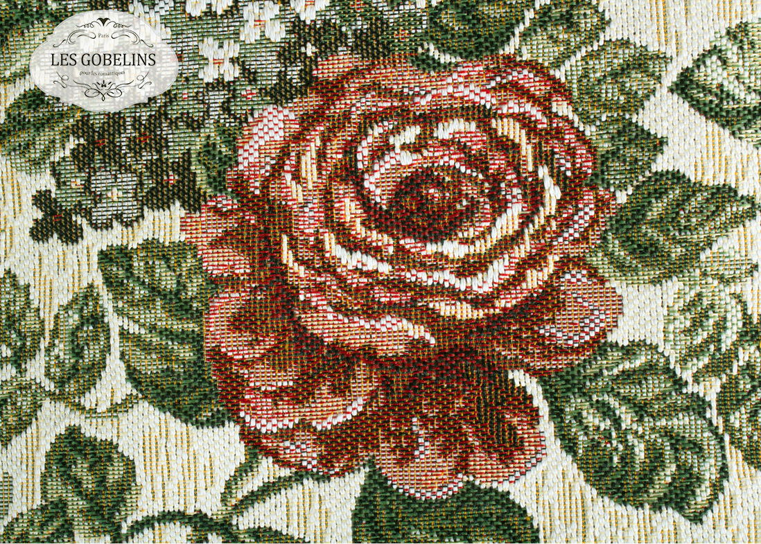 Покрывало Les Gobelins Накидка на кресло Art Floral (70х130 см)