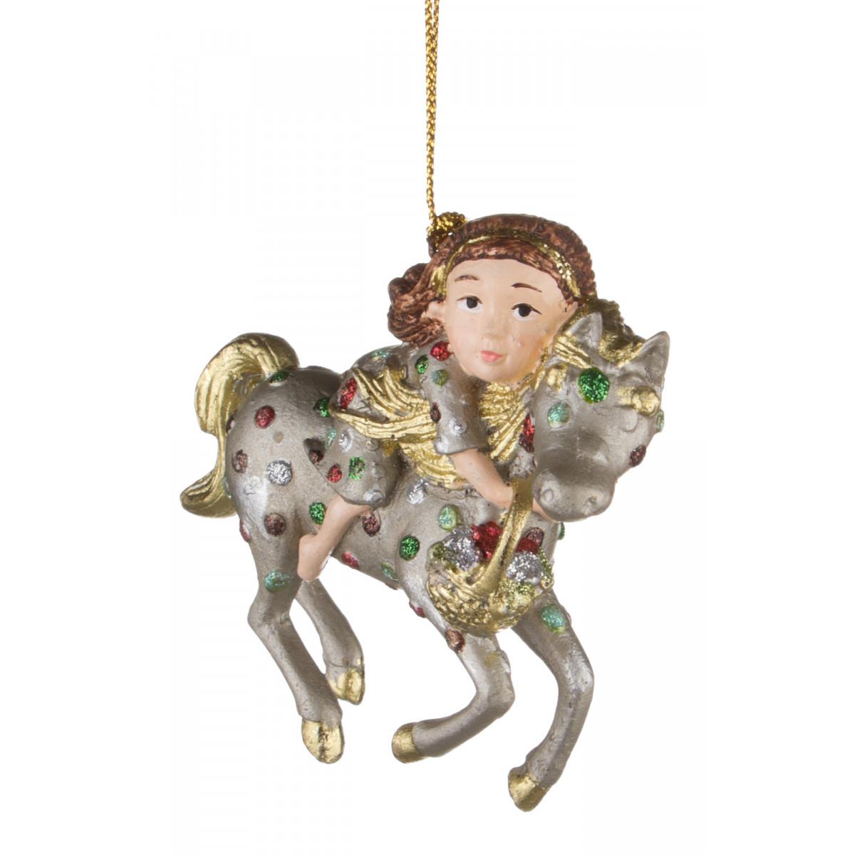 {} Markalex Елочная игрушка Laurelle  (9 см) елочные украшения sia елочная игрушка