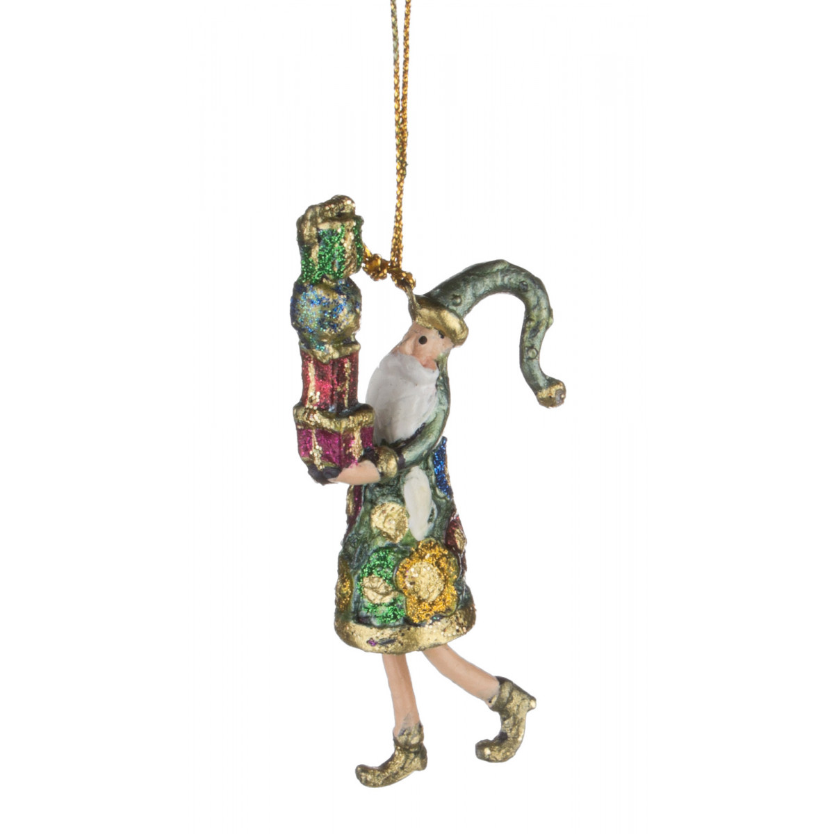 {} Markalex Елочная игрушка Kev  (9 см) елочные украшения sia елочная игрушка