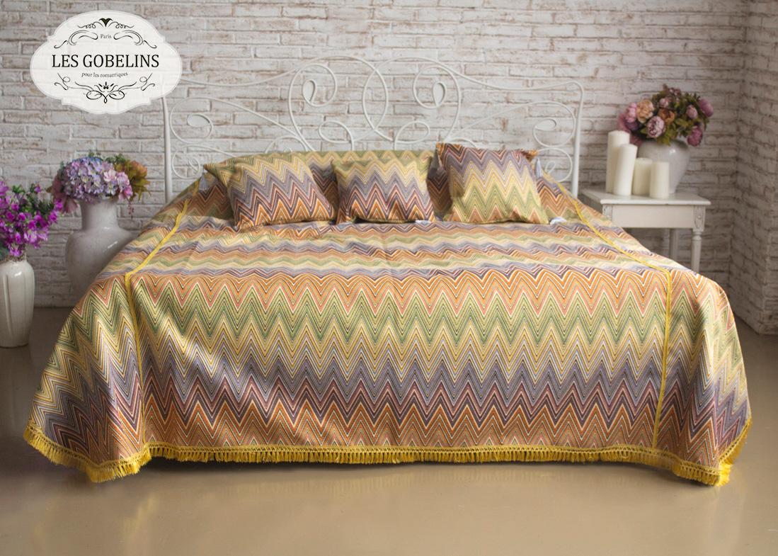Покрывало Les Gobelins Покрывало на кровать Cordillere (190х230 см) les gobelins les gobelins покрывало на кровать nymphe 190х230 см
