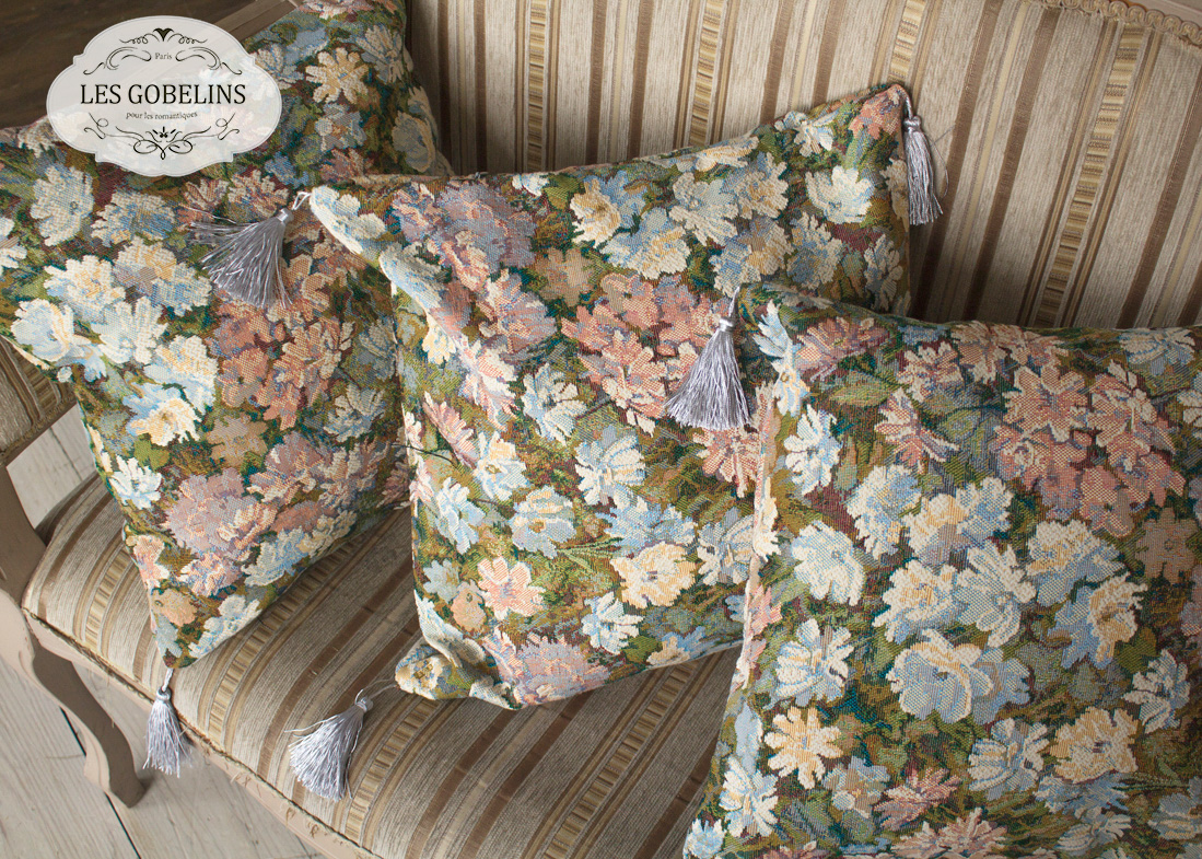 Декоративные подушки Les Gobelins Декоративная наволочка Nectar De La Fleur (45х45)