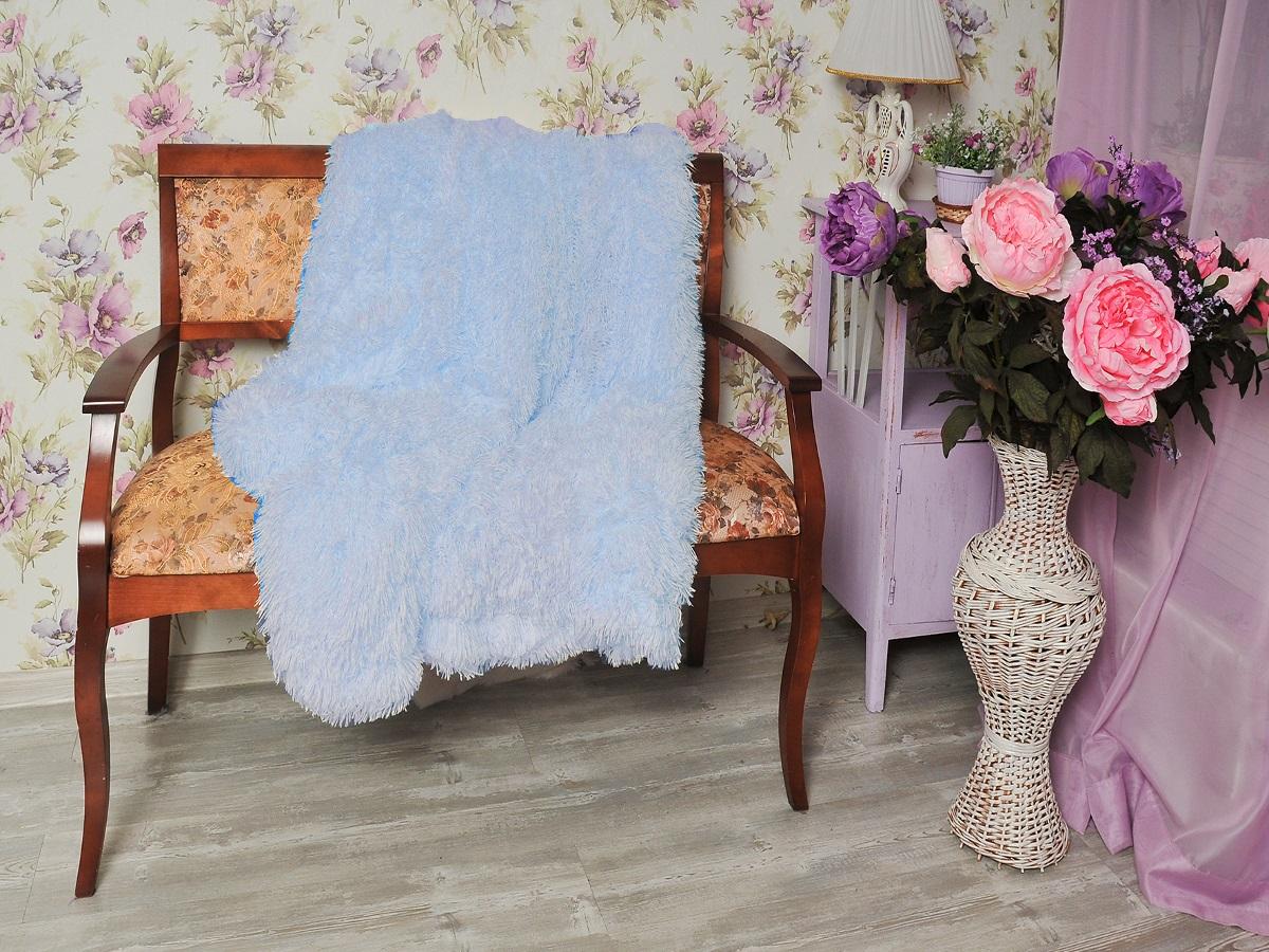 где купить Плед Cleo Плед Конфетти Цвет: Голубой (220х240 см) по лучшей цене