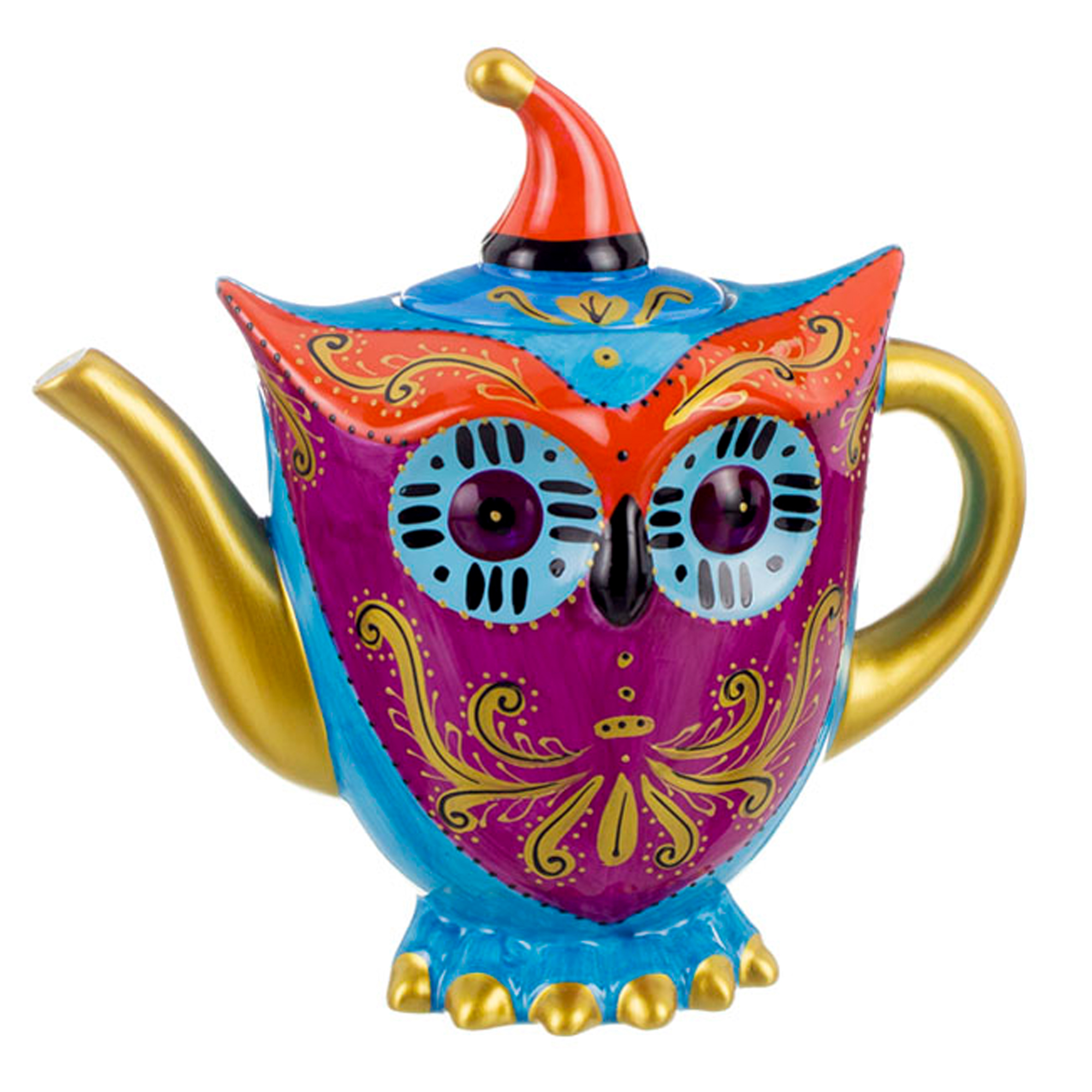 {} Lefard Заварочный чайник Сова (1200 мл) чайник стеклянный пик света 1200 мл