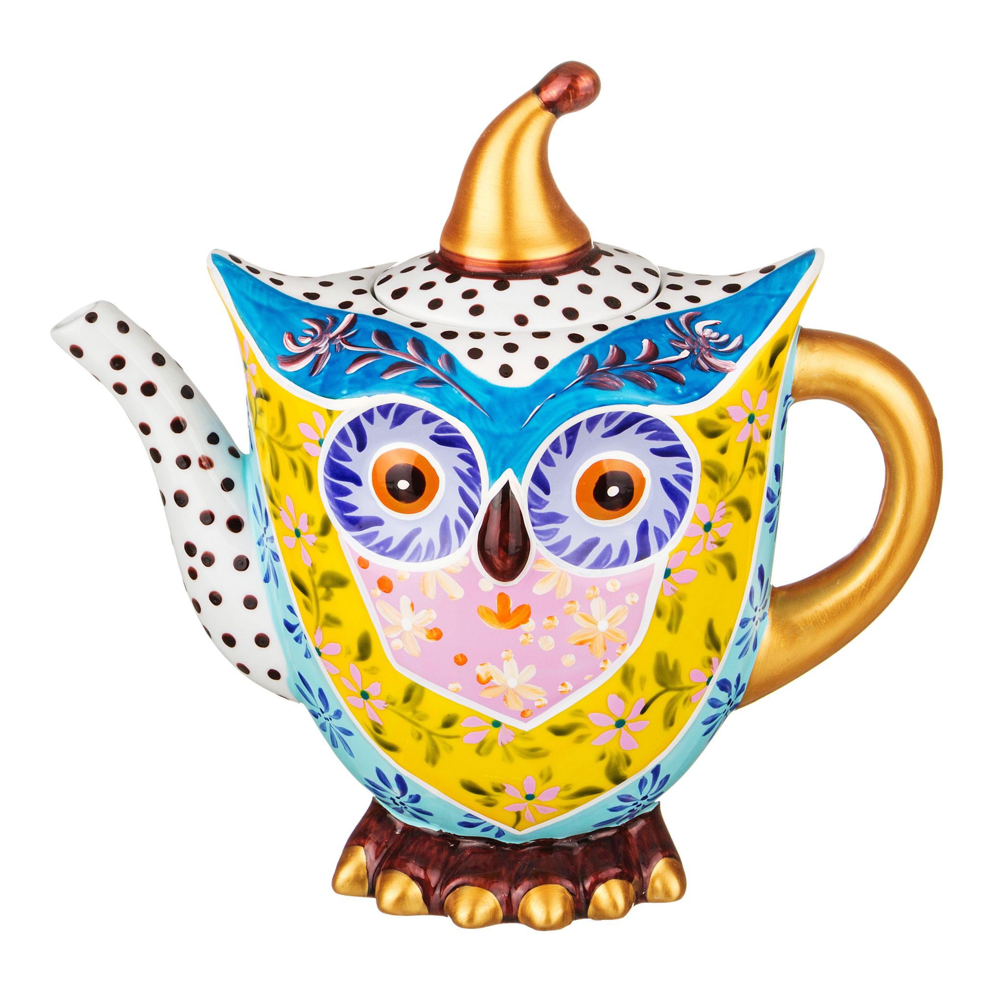{} Lefard Заварочный чайник Совенок (1200 мл) чайник стеклянный пик света 1200 мл