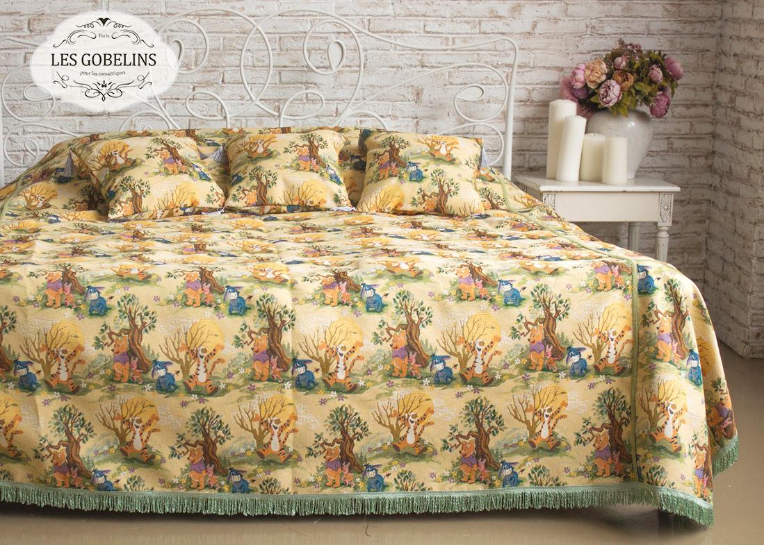 Детское Покрывало на кровать Winnie L'Ourson (140х230 см) Les Gobelins