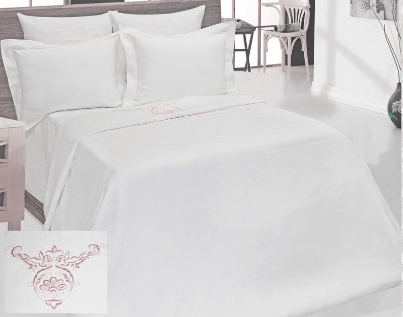 Постельное белье Белорусский Лён Постельное белье Ангелина (2 сп. евро)  белорусский лен комплект столовый франческа