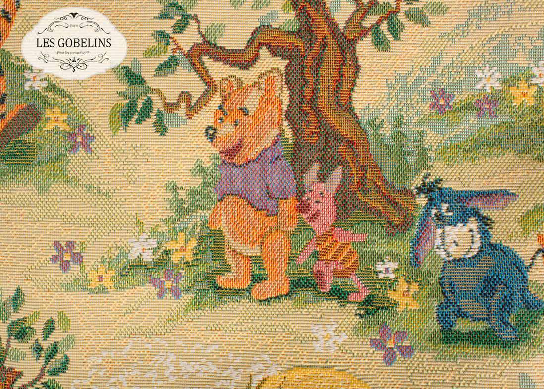 где купить  Детские покрывала, подушки, одеяла Les Gobelins Детская Накидка на диван Winnie L'Ourson (150х200 см)  по лучшей цене
