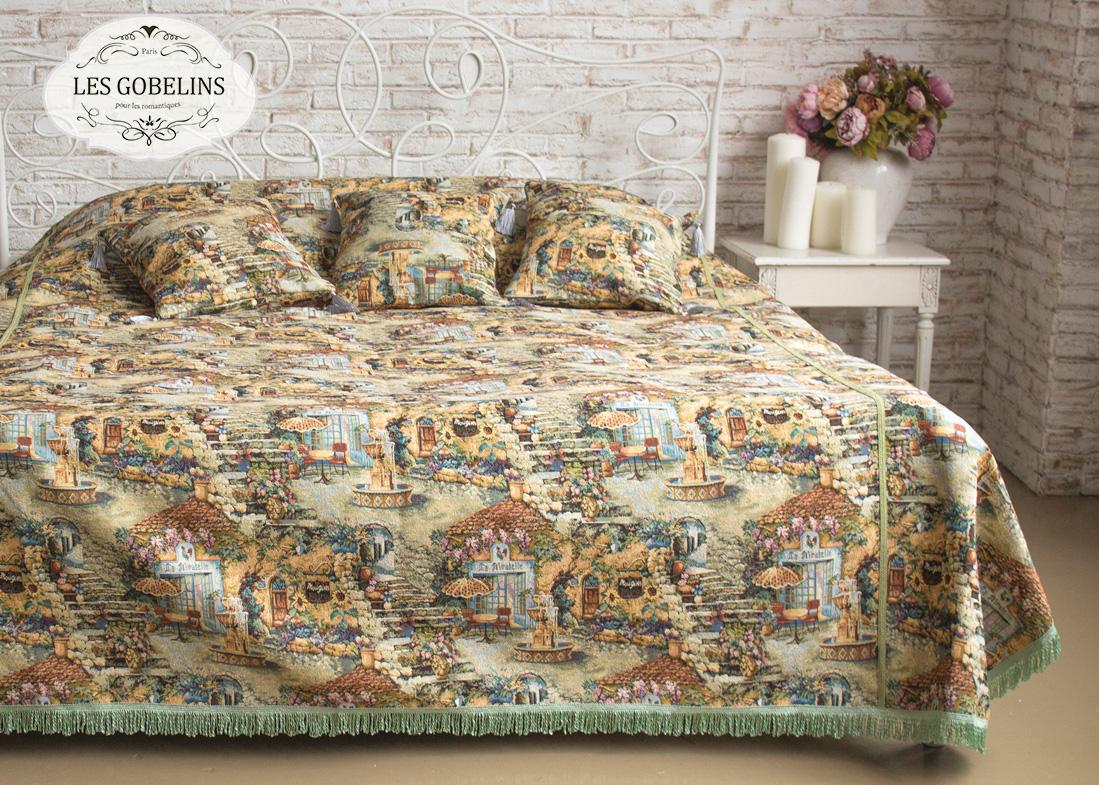 Фотография Les Gobelins Покрывало на кровать Jardin D'Eden (240х260 см)