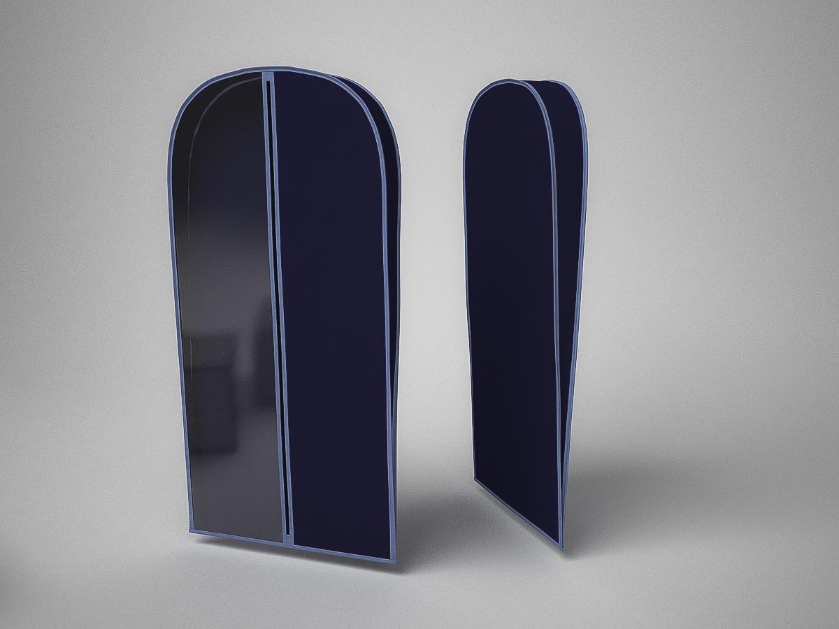 {} CoFreT Чехол для одежды Классик Цвет: Синий (10х60х100 см) форма для блоков для возведения стен купить москва