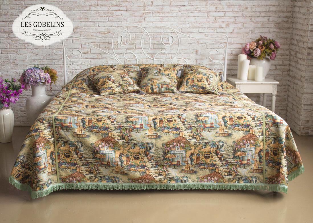 где купить Покрывало Les Gobelins Покрывало на кровать Jardin D'Eden (180х230 см) по лучшей цене