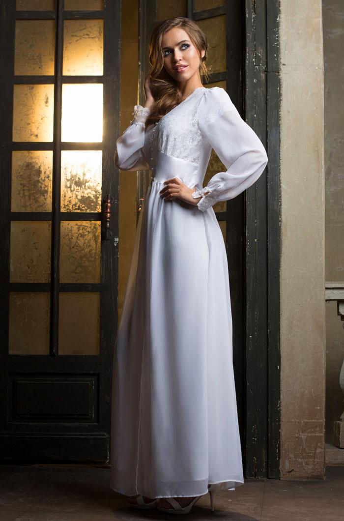 Домашние халаты Mia-Mia Пеньюар Lady In White (L) халатик mia mia lady in red красный l xl