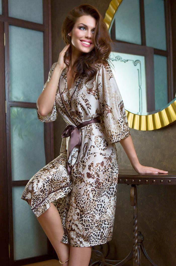 Домашние халаты Mia-Mia Домашний халат Cleopatra (L-xL) домашние халаты mia mia домашний халат yesenia xl