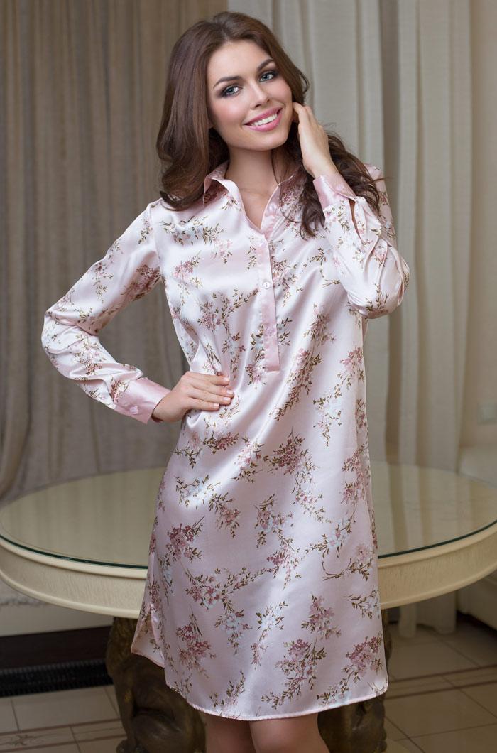 Туники, сарафаны Mia-Mia Туника Luisa (xL) сорочка рубашка mia mia luisa розовая xl