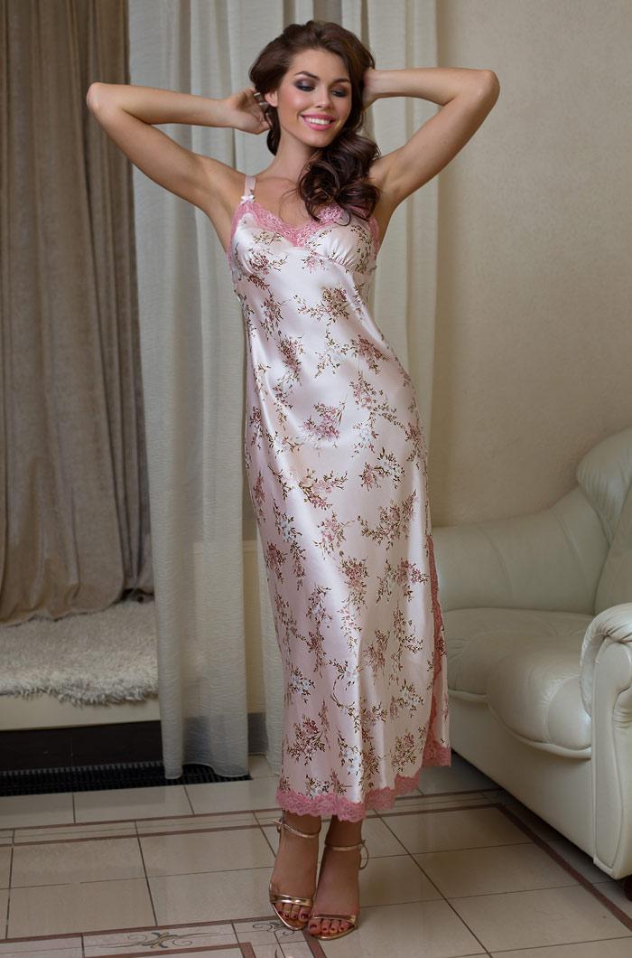 Ночные сорочки Mia-Mia Ночная сорочка Luisa (M) сорочка рубашка mia mia luisa розовая xl