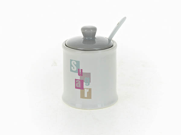 {} ENS GROUP Сахарница Letters (7х10 см) сахарница ens group севилья с ложкой 500 мл