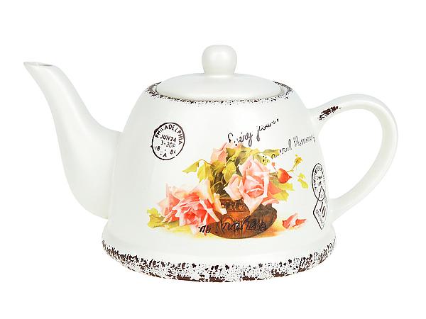 {} ENS GROUP Заварочный чайник Персиковая Роза (14х16х24 см) чайник заварочный ens group чайная роза 1 л