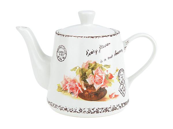 {} ENS GROUP Заварочный чайник Персиковая Роза (13х15х21 см) чайник заварочный ens group чайная роза 1 л