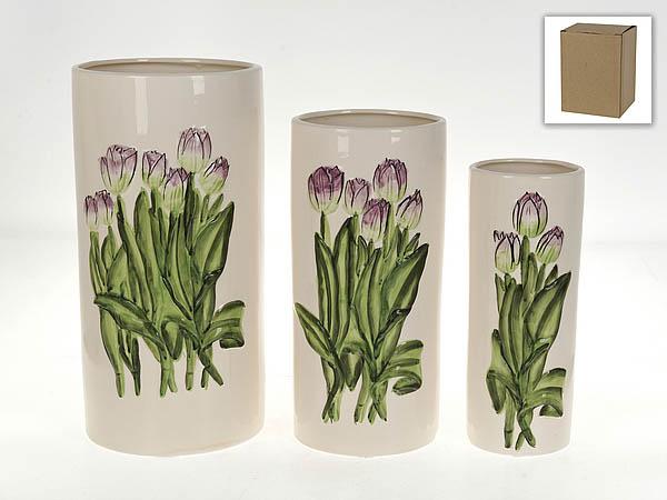 где купить {} Gloria Garden Ваза Тюльпаны (Набор) по лучшей цене